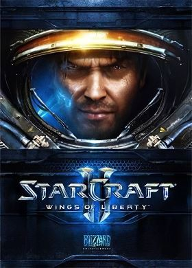 Обложка Starcraft 2 Wings of Liberty