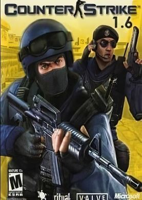 Обложка Counter Strike 1.6