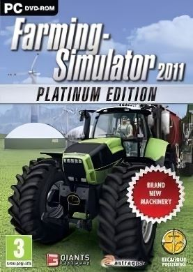 Обложка Farming Simulator 2011 Platinum Edition