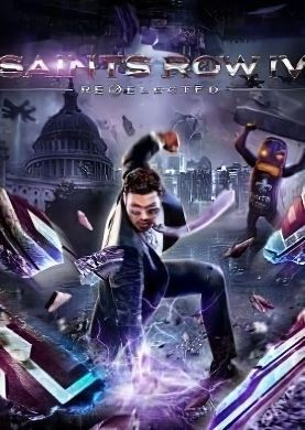 Обложка Saints Row IV Re-Elected