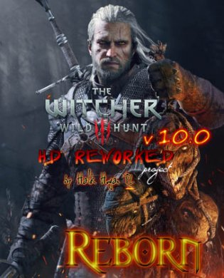 Обложка The Witcher 3: Wild Hunt - HD Reworked Project