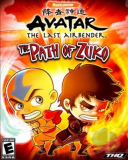 Обложка Avatar The Last Airbender: The Path of Zuko