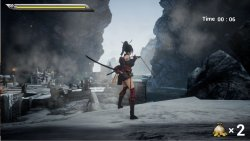 Dual Blade Battle of The Female Ninja