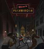 Обложка Pecaminosa - A Pixel Noir Game